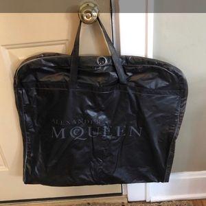 Alexander McQueen garment bag 💀